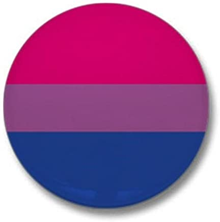 "CafePress Bi Pride Flag Mini Button 1"" Round Mini Button"
