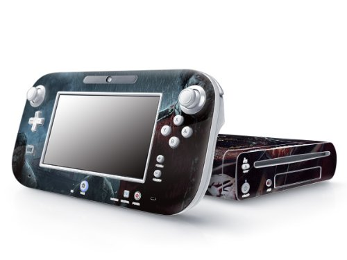 Nintendo Wii U Decorative Skin Sticker Protective Decal