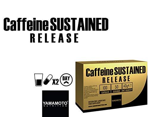 Yamamoto Nutrition Caffeine Sustained Release, 100 Caps, 75 g