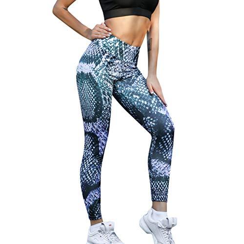 NSYJK Yoga broek Yoga Broek Van Vrouwen Sport Broek Hoge Taille Snake Print Yoga Leggings Voor Fitness Hardlopen Broek Sportswear Vrouw Gym