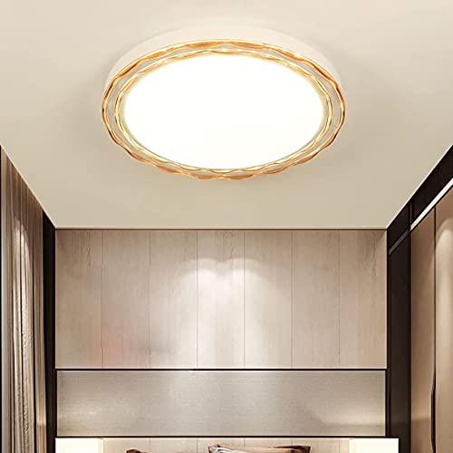 Bermnn Luces de Techo de Dormitorio Modern Dimmable DIRIGIÓ Luz Interior de Techo Sala de Estar Interior Lámpara de Techo para Comedor Cocina Salón Lighting Lighting