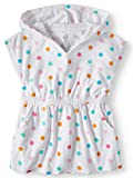 Wonder Nation Girls Hooded Pullover Terry Swimsuit Cover Up, Dots, 5T uninterruptible power supply May, 2021