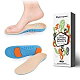Hyperspace Orthotic Shoe Insoles Shock-Absorbing Arch Support Shoe Inserts for Flat Feet and Plantar Fasciitis (XS: 5-7 US Womens)