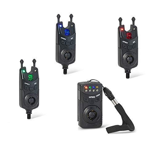 Anaconda Vipex RS Profi Set 3 + 1 Bissanzeiger mit Lampe & Camp Security