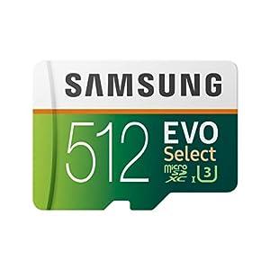 Samsung 512GB 100MB/s (U3) MicroSD Evo Select Memory Card with Adapter (MB-ME512GA/AM) 8