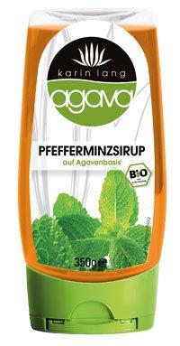 Agava Pfefferminzsirup Spender, 350g, Bio: DE-ÖKO-001