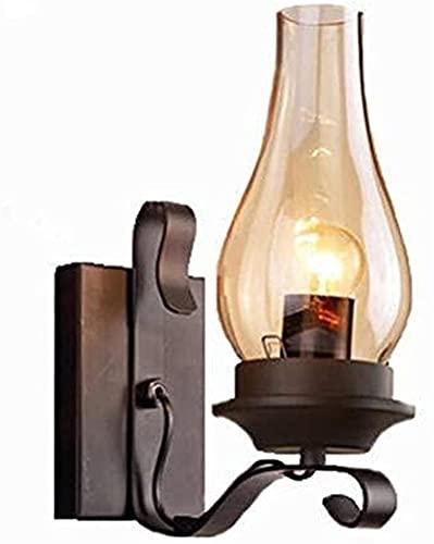 Lampada Da Parete Retrò Lampada A Parete Lampada A Candela, Portacandele Antico Supporto A Parete, Bar Corridoio E27 Decorazione Di Illuminazione