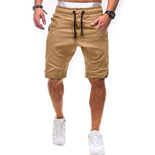 iHHAPY Shorts for Mens Sport Camouflage Bandage Drop Crotch Jogger Pants Casual Sweatpants Drawstring Shorts Plus Size