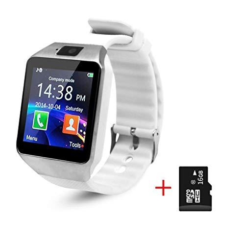 Oyznsb Bluetooth horloge smartwatch voor mannen vrouwen Ticwatch Sport Fitness Tracker voor iOS iPhone Samsung Huawei Xiaomi Android Phone