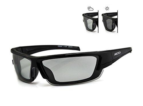 Photochromatische und Polarisierende Sportbrille Arctica S-131F für Damen und Herren