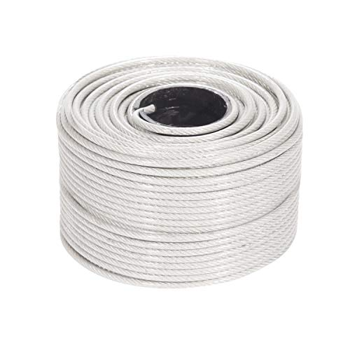 stainless steel cable coated - 8