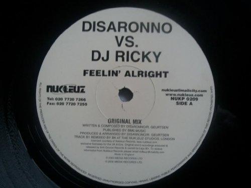DISARONNO vs DJ RICKY Feelin' Alright 12'