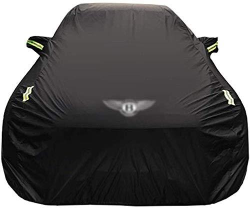 Yapin Car-Cover Kompatibel mit Bentley Arnage R Spezial Car Cover Car Persenning Sonnenschutz Regenschutz Scratch Oxford Cloth Plus Velvet Four Seasons Universal-Car-Cover Jacken Schutzkleidung