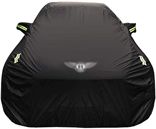 Yapin Car-Cover Kompatibel mit Bentley Arnage T Sonder Car Cover Car Persenning Sonnenschutz Regenschutz Scratch Oxford Cloth Plus Velvet Four Seasons Universal-Car-Cover Jacken Schutzkleidung