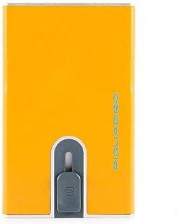 Piquadro Blue Square Porta carte di credito RFID pelle 6 cm