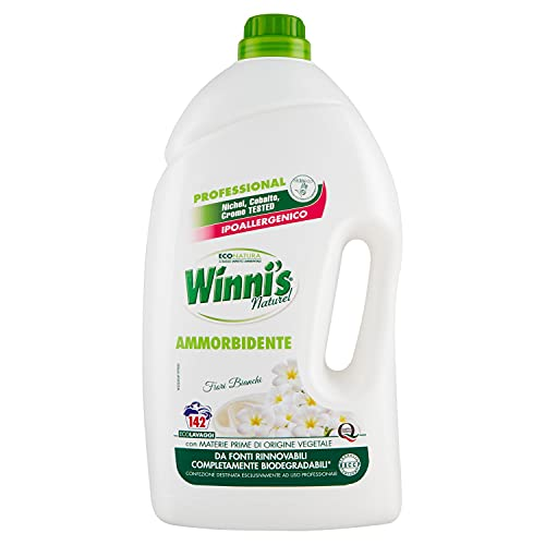 Winni's Ammorbidente ai Fiori Bianchi, 5 Litri, 5 l (Confezione da 1), 5000 unità