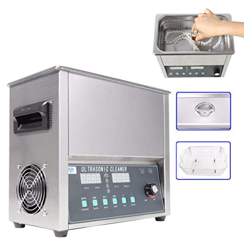 Edelstahl 14L 300W Industrie Beheizter Ultraschallreiniger Ultra Sonic Reinigungsmaschine Beheizt
