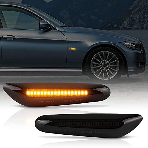 LED Seitenblinker passend für BMW 3er | E36, E46, E90, E91, E92, E93 | SCHWARZ