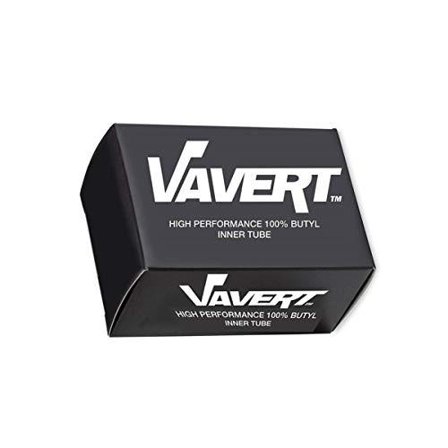 Vavert Inner Tube - Cámara de aire para bicicletas, color negro, talla 18 x 1.75/1.95