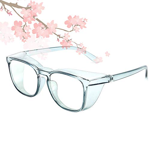 Anti Fog Safety Glasses Blue Light Blocking Lens Safety Goggles Protective for Women Men UV400 Protection