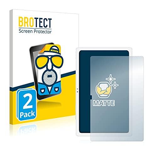 BROTECT 2X Entspiegelungs-Schutzfolie kompatibel mit Samsung Galaxy Tab A7 10.4 WiFi 2020 Bildschirmschutz-Folie Matt, Anti-Reflex, Anti-Fingerprint