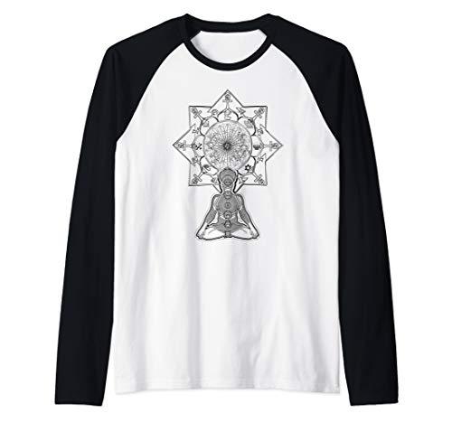 DMT T-Shirt, Ayahuasca - Psychedelic Inspiration Raglan