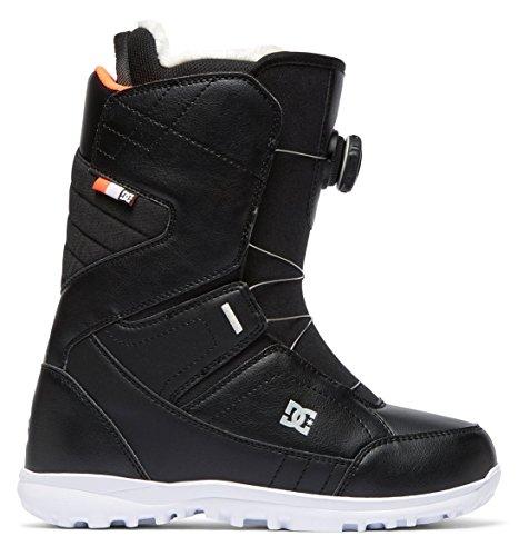 DC Search BOA Snowboard Boots Black Womens Sz 9