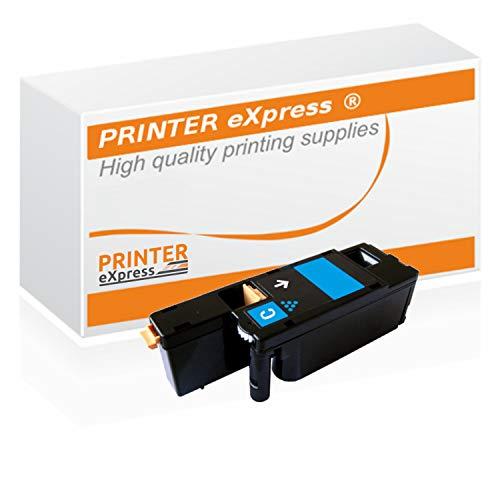Printer-Express XL Toner ersetzt Dell 5R6J0, 593-11129 Toner für Dell C1660 C1660W / Dell C 1660 1660W Drucker cyan
