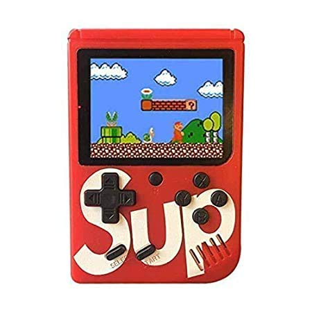 Phonefinity Retro FC Handheld Arcade Style Video Games Console Gaming System Built in 400 Classic Old School Games LCD USB Charge and TV-Output (Multi Colour)