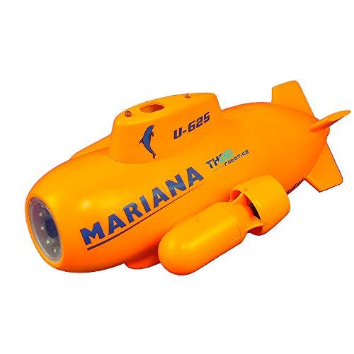 ThorRobotics Drone subacuático de Mariana RC Mini UAV Underone con FPV y 2.4G RC 5.8G HD Transmisión de Imagen cámara submarina Drone Fotografía y vídeo subacuático