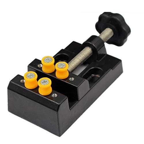 Vokmon Bricolaje Tornillo de la Tabla Bench Vise Vise joyería de aleación Vice Craft Modelado Lock Trabajo Fijo Marca Herramientas de reparación