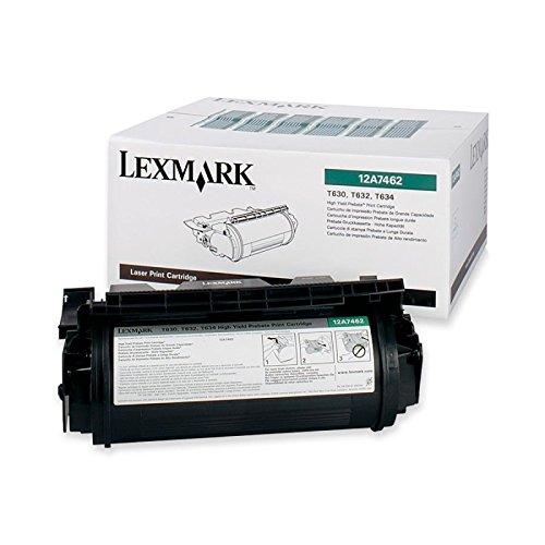 Original Druckkassette für Lexmark T630-12A7462