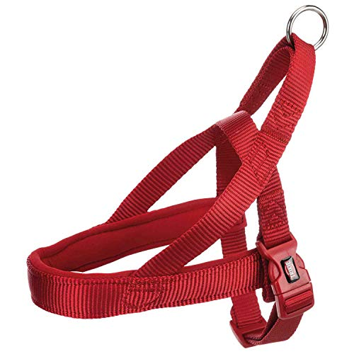 Trixie Norwegisches Premium-Hundegeschirr, l, rot