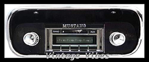 1967-1973 Ford Mustang Custom Autosound USA-230 AM/FM Stereo Radio 200 watts
