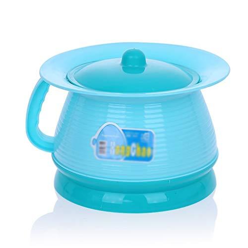 Enfant Toilette Potty Formation Filles Garçon Bébé Chaise De Chaise Siège Toilette Portable avec Couverture Infant Bébé Pot Enfants WC ( Color : Blue , Size : 21*13cm )