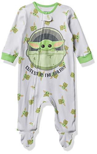 Star Wars Baby Footed Sleep & Play, Yoda, 0-3M