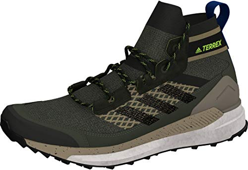 adidas Terrex Free Hiker Blue, Scarpe da Passeggio Uomo, LEGGRN/CBLACK/SIGGNR, 45 1/3 EU