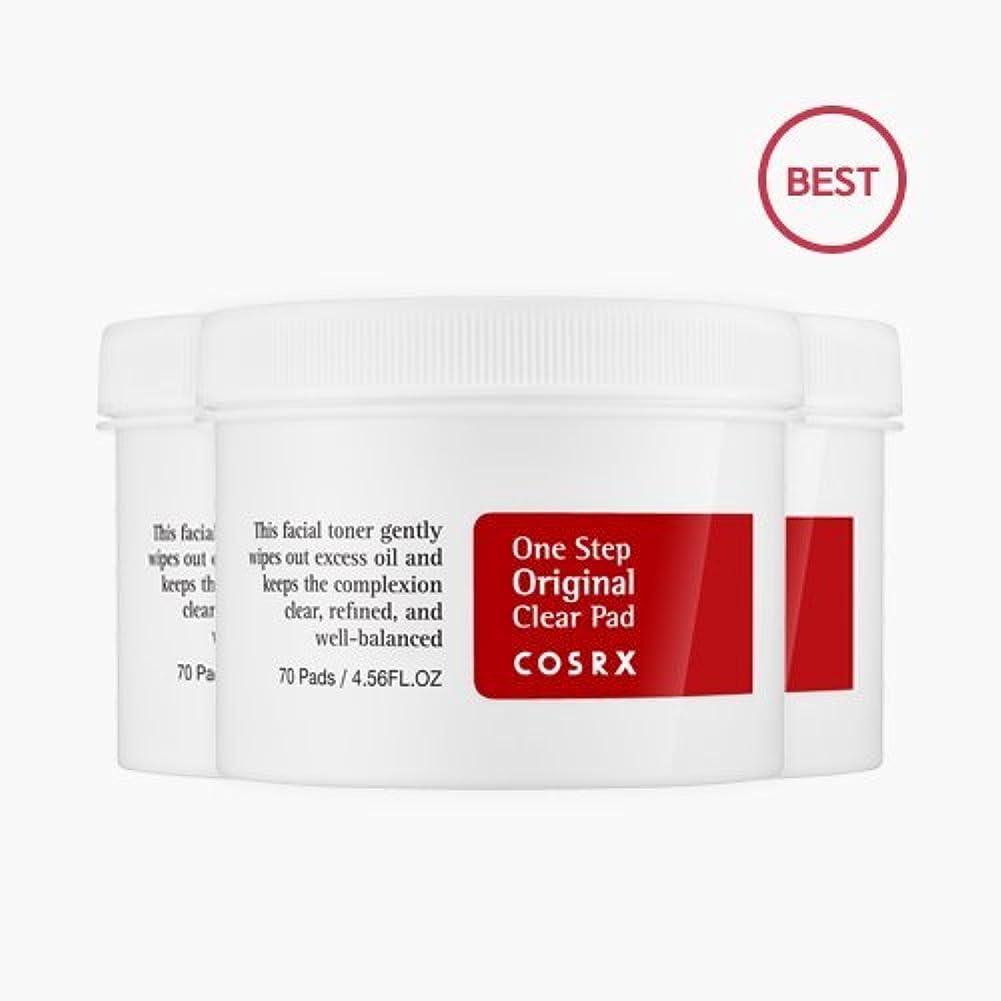 剃る苦痛信頼性COSRX ワンステップ ピンプル クリアバッド (70枚) 3個 [海外直送品]