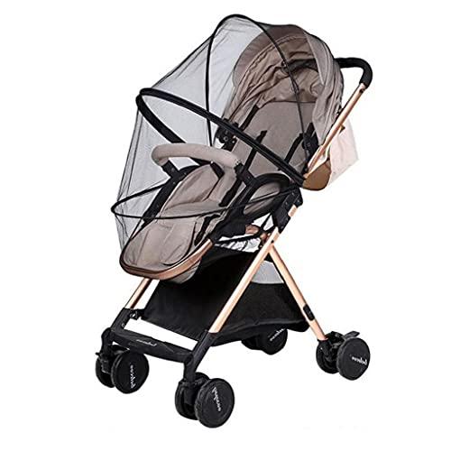 Myggnät för barnvagn, barnvagn, buggy, barnvagn anti-insektsskydd nät barnvagn tillbehör