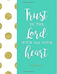 journal with Trust in the Lord
