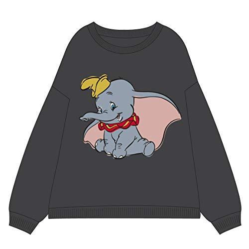 Artesania Cerda Dumbo Sudadera, Gris (Gris 13), L para Mujer