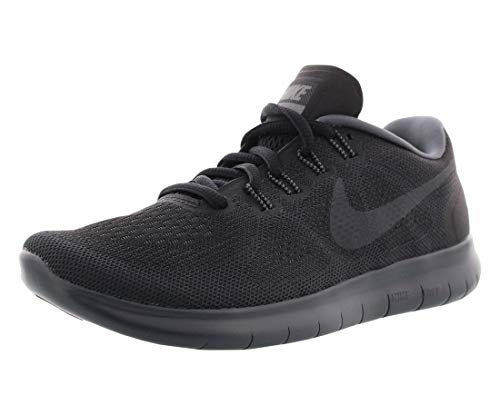 Nike Women's Free Rn 2017 Black/Anthracite Dark Grey Running Shoe 6.5 Women US