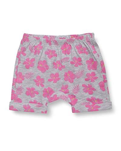 United Colors of Benetton Baby-Mädchen Shorts, Grau (Grigio/Rosa 74b), 56 (Herstellergröße: 62)