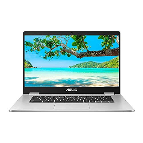 ASUS Chromebook C523NA (Silver) (Intel Celeron N3350, 4 GB RAM, 64 GB eMMC, 15.6 Inch HD Screen, Chrome OS)