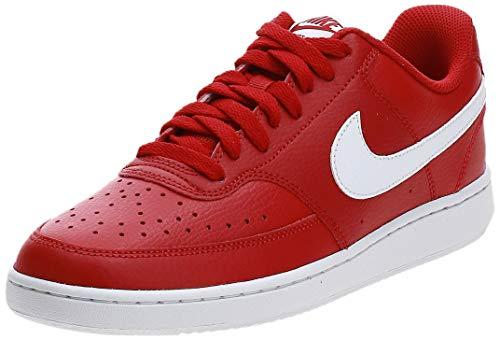 Nike Court Vision LO, Zapatillas Hombre, Rojo (Gym Red/White 103), 45 EU