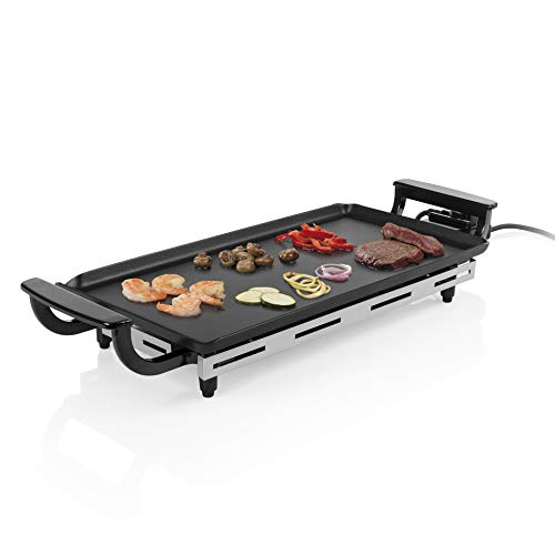 Princess 102209 Economy Table Chef Plancha, 1800 W, Negro