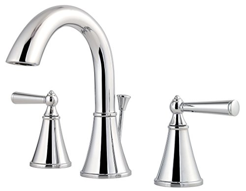 Pfister LG49GL0C LG49-GL0C Saxton 2-Handle 8' Widespread Bathroom Faucet in Polished Chrome, 1.2gpm