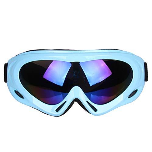 MJBOY Motorrad-Schutzbrille Querfeldeinrennen Reitbrille Anti-Kratz, staubdicht, Anti-UV-Schutzbrillen - Einstellbare elastische Band