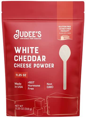Judee's White Cheddar Cheese Powder 11.25oz - 100% Non-GMO, rBST Hormone-Free - Gluten-Free &...