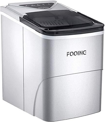 Machine à glaçons FOOING Machine Glacon Ice Machine prête en 6 Minutes Machine Glacon Kube 2L avec fonction d'autonettoyage Affichage à LED Machines à glaçons de comptoir pour la maison